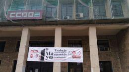 Edificio de los sindicatos en Cádiz