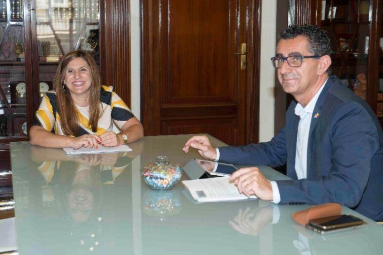 Irene García y Miguel Molina