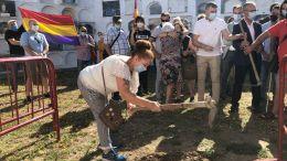 Inicio de la fase de exhumacion en Jimena
