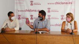 José Manuel Vera, Roberto Palmero y Mª Ángeles Martínez