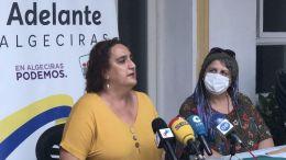 Ángela Aguilera y Leonor Rodríguez