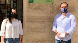 Juan María Cornejo y María del Mar Candón.