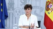 La ministra de Política Territorial y portavoz del Gobierno, Isabel Rodríguez