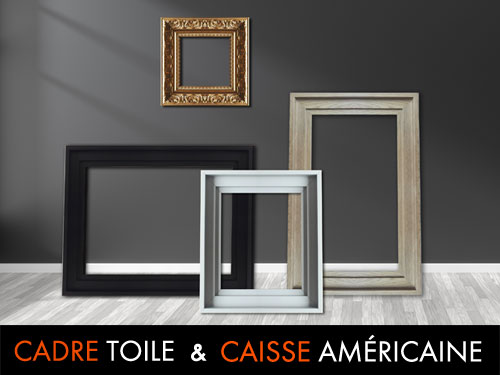 Caisse Americaine Cadre Sur Mesure Et Standard Tableaux Deco Images