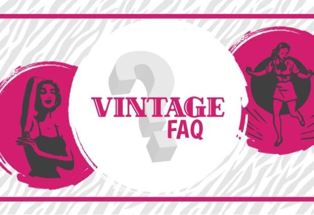 vintage FAQ illustrazione di copertina