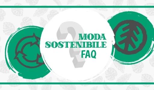 copertina FAQ moda sostenibile
