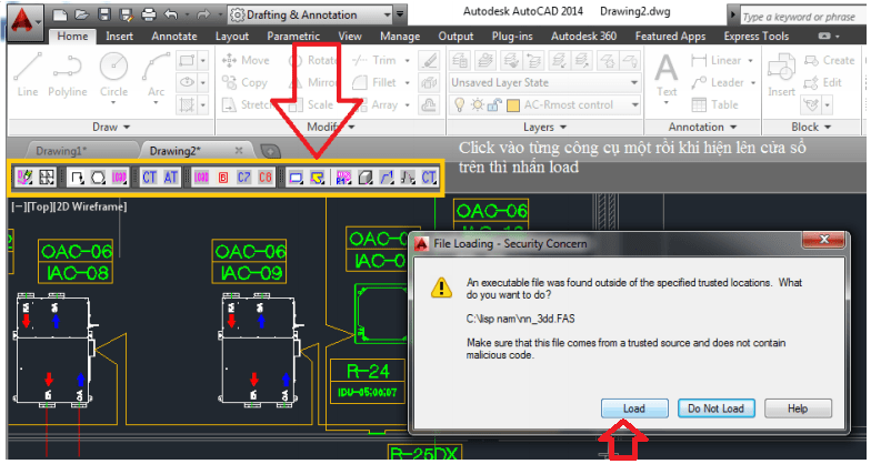 Download autolisp trong autocad