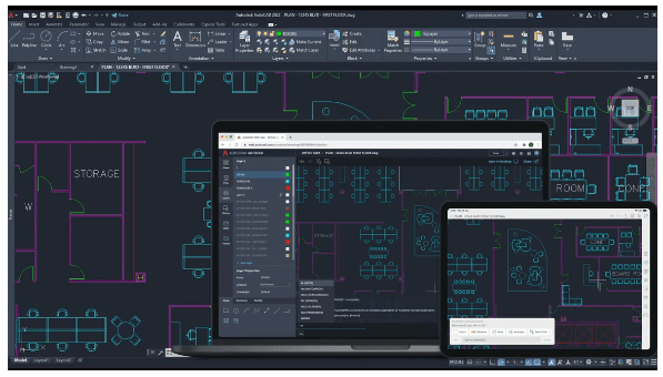 Chức năng Trace trong autocad 2022