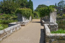 The Walk Down the Hill from New Scotney to Old Scotney