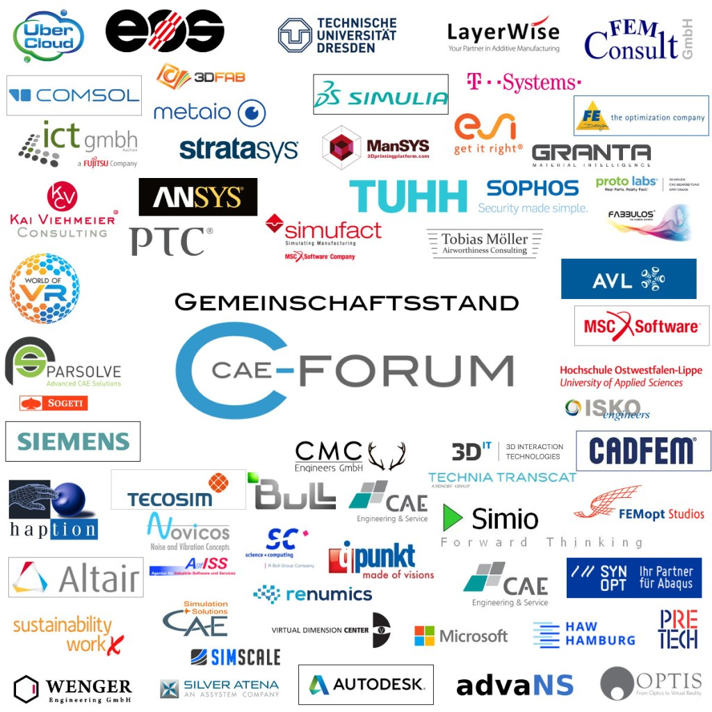 Presenting Companys @ Gemeinschaftsstand CAE-Forum @ Digital Factory @ Hannover Messe