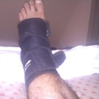 Ankle: Broken or Sprained? Uninsured, either way.