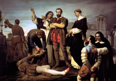 Los comuneros en el patíbulo 1860