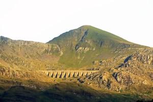 Moelwyn Mawr and Stwlan Dam