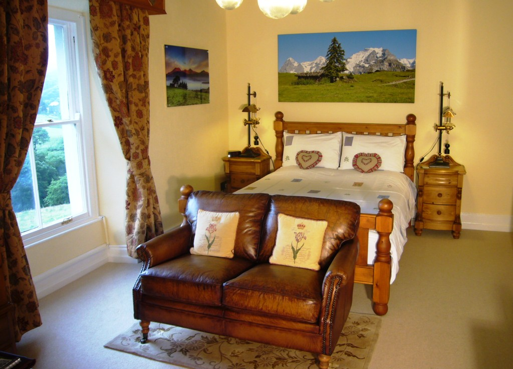 Alpine Hearts Bedroom
