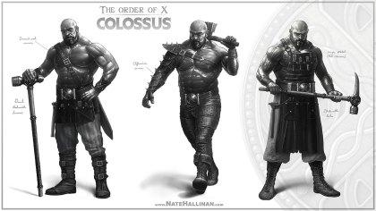 Colossus - Sketch