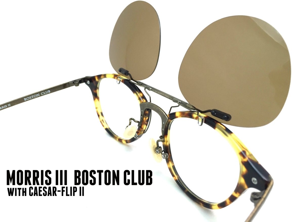 MORRIS III BOSTON CLUB_Antique Gold