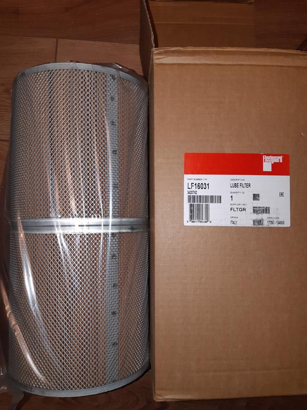 LF16031 масляный фильтр