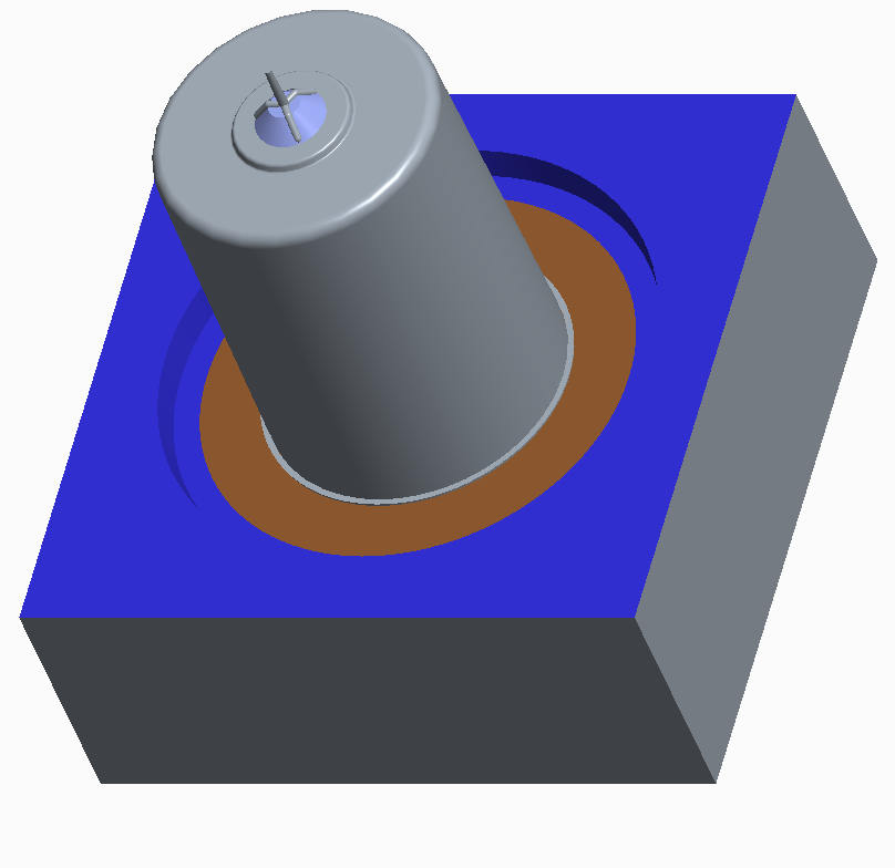 Stripper ring for ejecting the molded product
