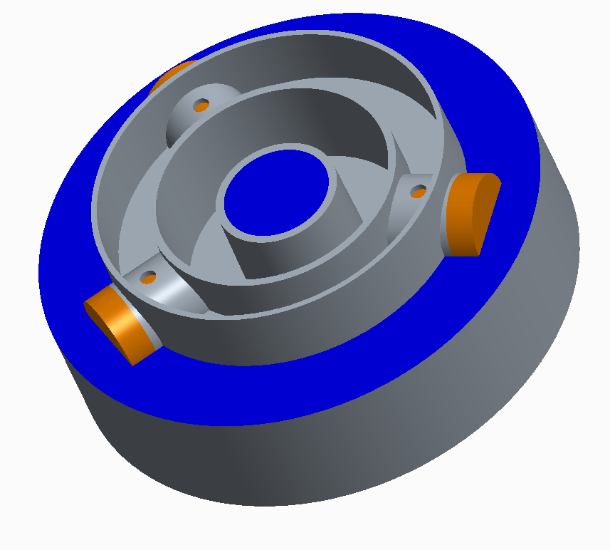 coupling with sliders