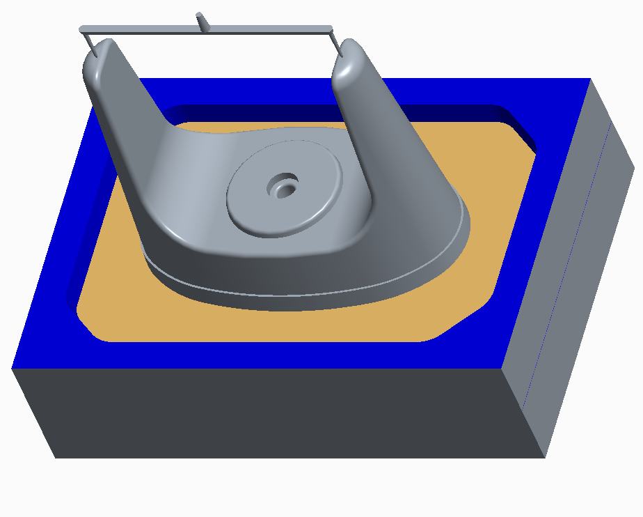molding with stripper plate