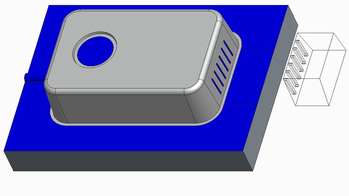 a slider for forming undercut in plastic part