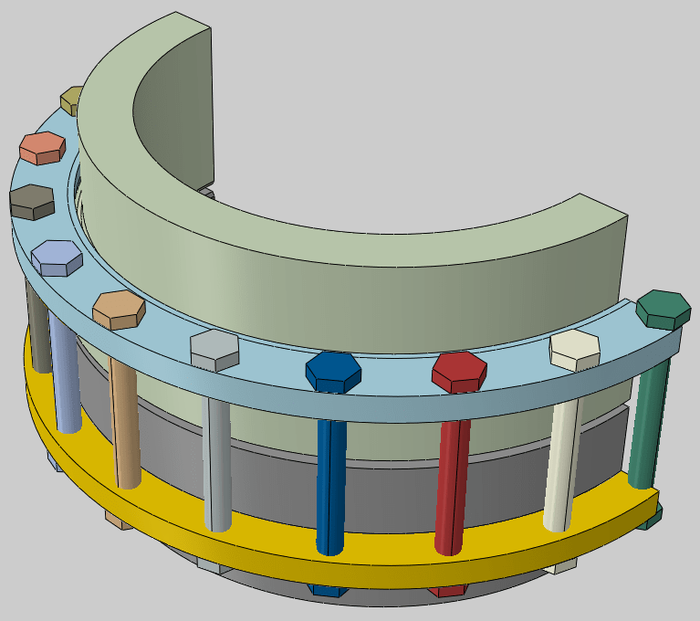 flange joint assembly