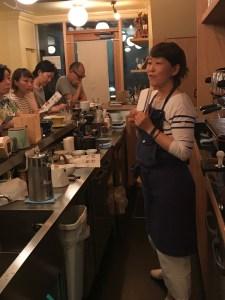 CAFE CUPOLA mejiro hand drip school 1 Ms NIREI