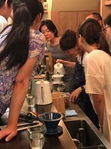 CAFE CUPOLA mejiro hand drip school 2