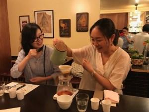 CAFE CUPOLA mejiro hand drip school 5
