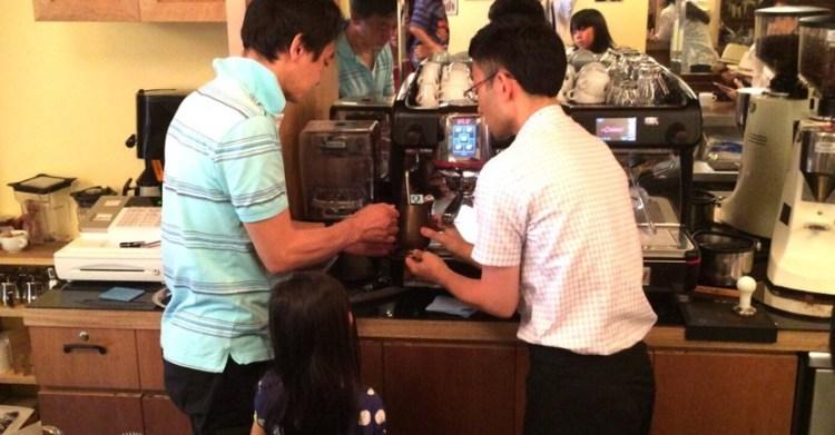 CAFE CUPOLA mejiro 2_お父さん頑張って!