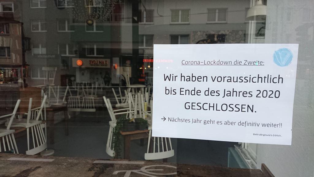Café LIVRES in Essen (Moltkestr. 2a) - Schließung des Café Livres bis Ende 2020 aufgrund der Corona-Schutzmaßnahmen