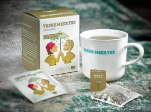 Trink Meer Tee für Cafe Missingsch
