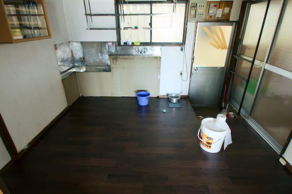 diy 床の張替え 長尺シート