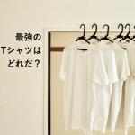 オススメの白Tシャツ。8種類を実際に長期着用レビュー