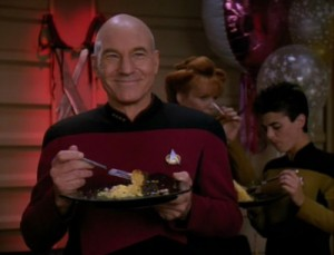 picard eating