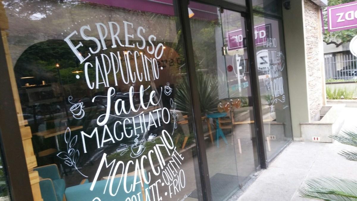 Z Coffee - Itaim Bibi também tem Cafés Especiais