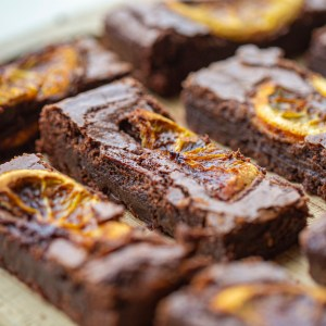 Orange Chocolate Brownie by 164