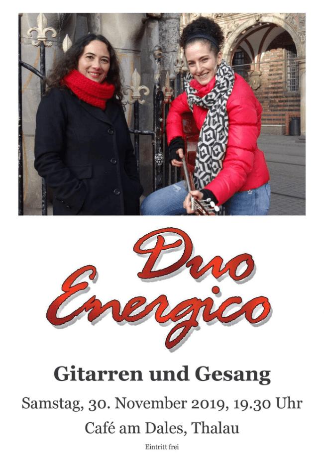 Duo Energico – Gitarren und Gesang