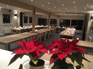 A picture of Café Backtee at Christmas