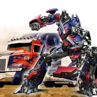 "Truk Transformer ""Optimus Prime""...Asli Made In Indonesia...sangar..."