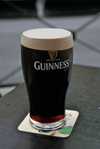 """The Irish boys took me for a beer. They gave me light beer and had Guinness. I asked why. They said, """"We got you the special stuff. It's imported."""""""