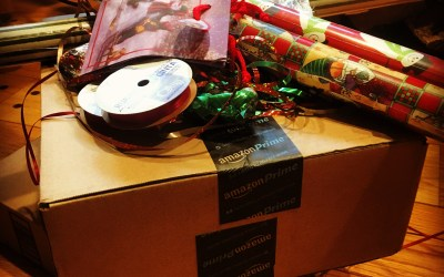 Amazoning Your Christmas?  Don't Let Box Guilt Consume Your Life!