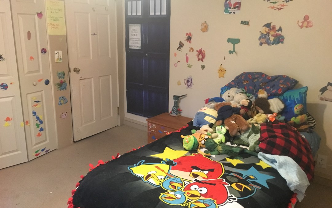 Bad Mom Series:  How to Clean Your Kid's Room