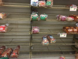Storms bring the bread rush