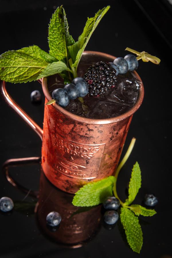 Black Berry Mule Cocktail