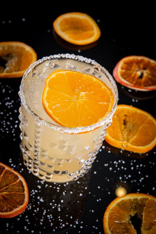 whiskey with orange drink