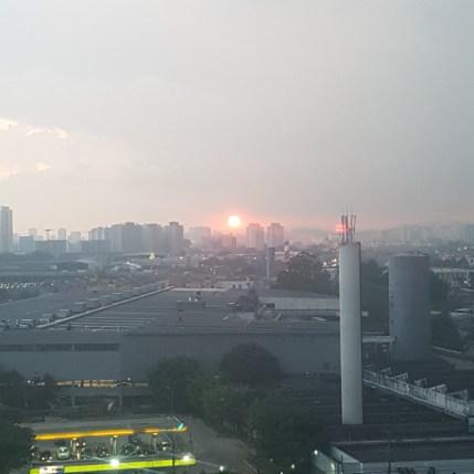 Uma foto de paisagem com zoom do A3 XL. Deixa a desejar