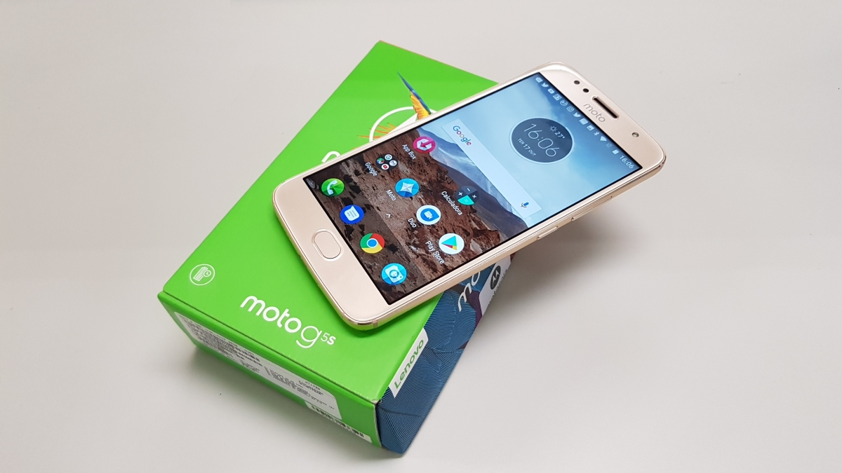 Moto G5s: review e vídeo de unboxing