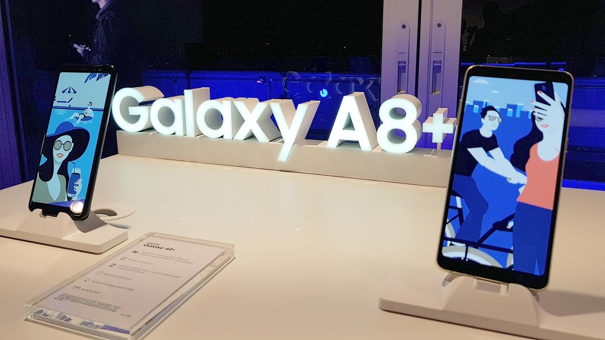 Galaxy A8 e Galaxy A8 plus trazem recursos de smartphones premium