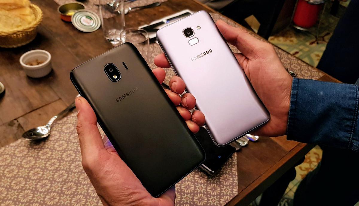 Samsung Galaxy J6 e J4 chegam ao Brasil
